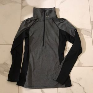 Under Armour long sleeve cold gear zip up